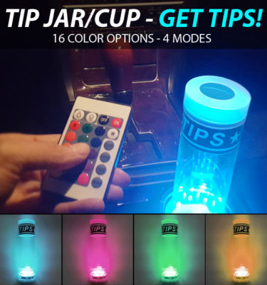 uber tip cup